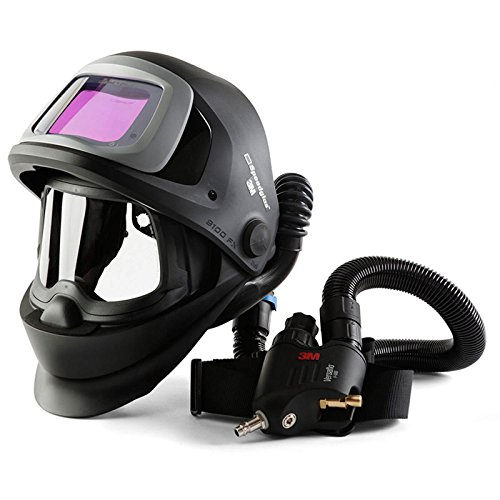 SPEEDGLAS 9100 FX AIR Schweißmaske Schweißhelm mit V-500E Atemschutzsystem, Größe:73 x 107 mm