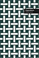 Expedition Lifestyle Journal, Wide Ruled Write-in Dotted Lines, (A5) 6 x 9 Inch, Notebook, 288 pages (Olive Green)