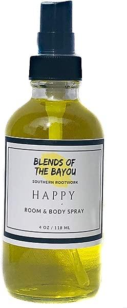 Blends Of The Bayou Happy Room Body Spray 4 Oz Hoodoo Voodoo Wicca Pagan