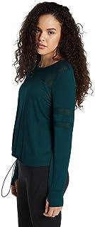 Rockwear Activewear Women's Winter Solstice Mesh Panel Top Dark Teal 14 from Size 4-18 for
