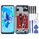 Pantalla de teléfono LCD Pantalla táctil para Huawei Pantalla LCD y digitalizador Asamblea completa con marco para Huawei Nova 5i Accesorios para teléfonos móviles (Color: Azul)