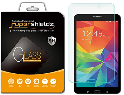 Supershieldz for Samsung Galaxy Tab 4 8.0 8 inch Tempered Glass Screen Protector Anti Scratch, Bubble Free