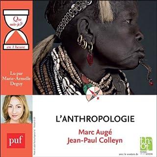 Couverture de L'anthropologie en 1 heure