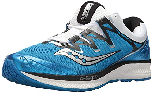 Saucony Men's Triumph ISO 4 Running Shoe, Blue/White, 7 Medium US