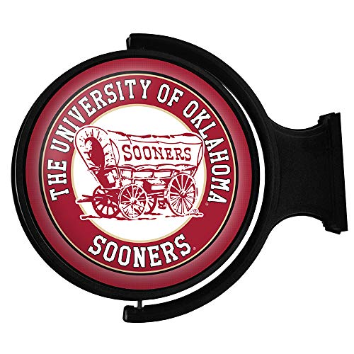 OU University of Oklahoma Sooners Featuring The Sooner Schooner Logo - Made in USA - (Round)