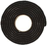 Stormguard Paraspifferi gomma, Autoadesivo, Extra spessa, Nero 3.5 m
