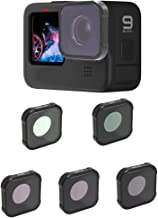 QKOO Ultraviolet UV Filter + Circular Polarizer CPL Filter+ Neutral Density Filter ND8 / ND16 / ND32 Filter for GoPro Hero...
