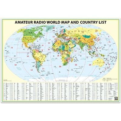 ham radio map