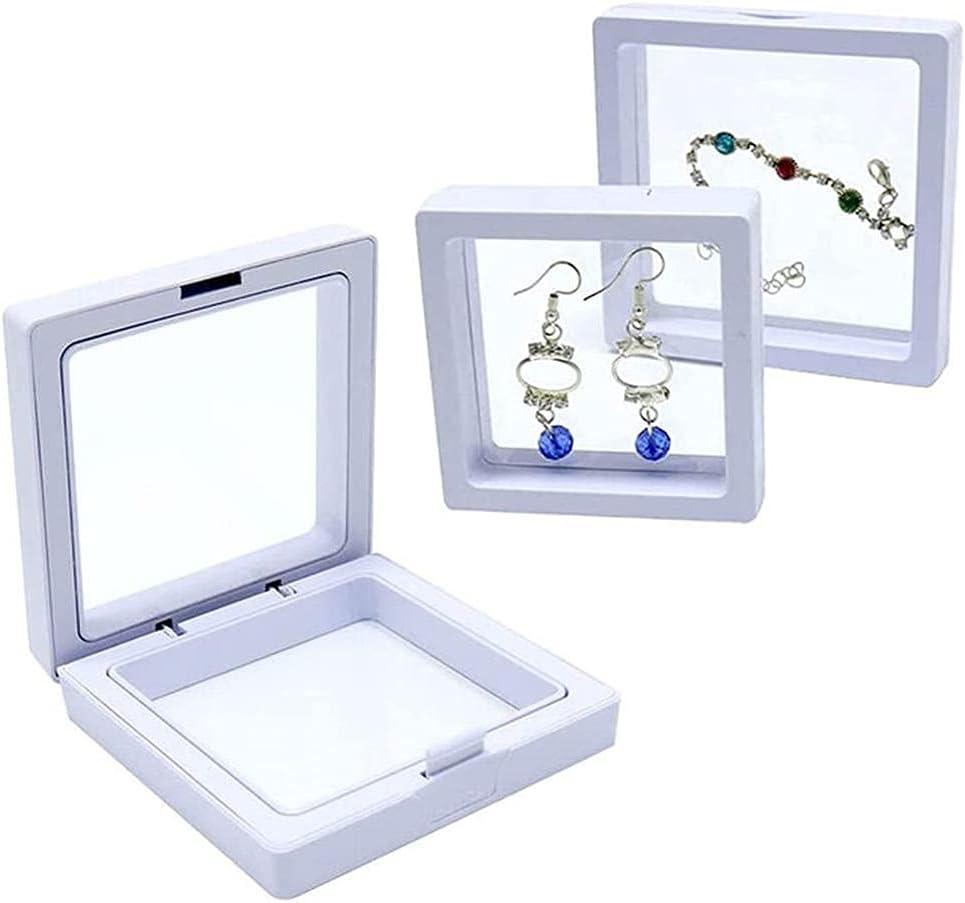 ICRPSTU Jewelry Storage Challenge the lowest price of Japan ☆ Box 3D Floating PE Frame Film Display J Regular dealer
