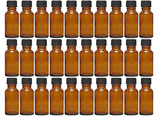 Vitrea 12/20/24 stuks 20 ml glazen flessen met druppelinzetstuk | kleur bruin glas | inhoud: 20 ml mini | apothekersfles | dosering van vloeistoffen e-vloeistoffen