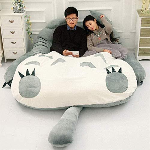 Mi Vecino Totoro Perezoso Dibujos Animados Tatami Dormido Cama Matrimonial Bolsa de Frijoles Sofá para Casa Calentar Totoro Colchón Tatami,120 * 80cm