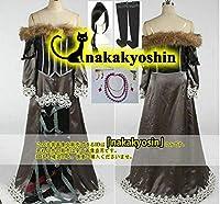 ウィッグ+髪飾り+ネックレス+イヤリング付きファイナルファンタジーX FF10 ルールー Lulu 靴下付き●コスプレ衣装