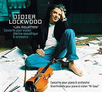 """Lockwood: Les mouettes, Concerto pour piano et orchestre, Divertimento pour piano et violon """"Mr. Casa"""""""