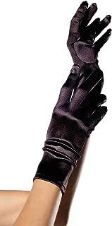 Leg Avenue Women's Wrist Length Satin Gloves