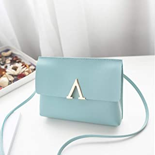 Wultia - Bags for WAMEN XCandy Color One Shoulder Small Messenger Bag Mobile Phone Bag Purse Bolsa Feminina Blue
