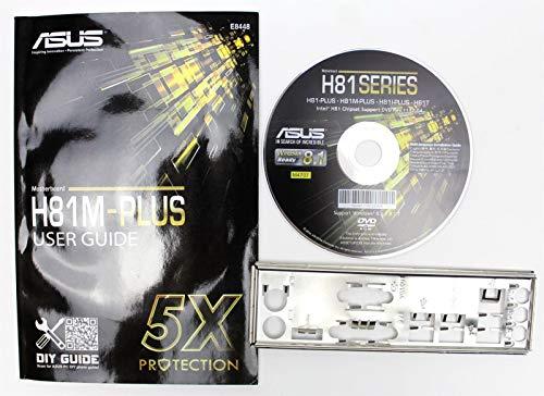 ASUS H81M-PLUS - Handbuch - Blende - Treiber CD