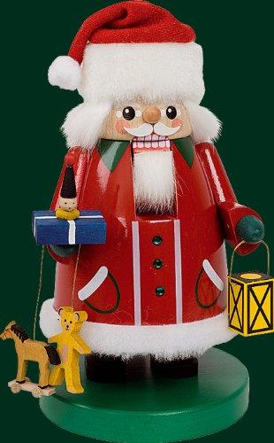 Rudolphs Schatzkiste Le schiaccianoci il Babbo Natale con Swarovski lapidano ANCORA l'altezza della figura di legno montagne delle schiaccianoci di approssimativamente 21 cm del minerale metallifero