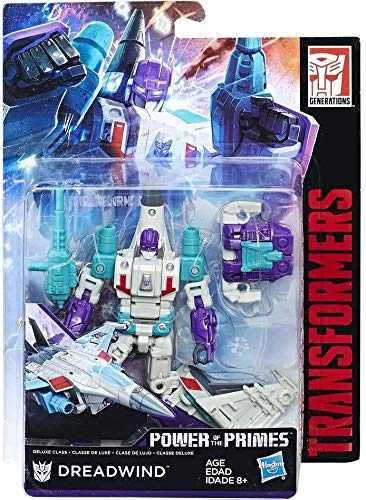 OTTO Transformers Power of The Primes : dreadwind - Classe de Avion - Robot Transformable Generations