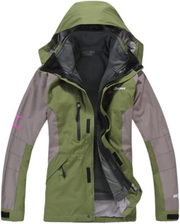 ZHEN Men's Waterproof Mountaineer Outdoor Ski Jacket Venture Jacket