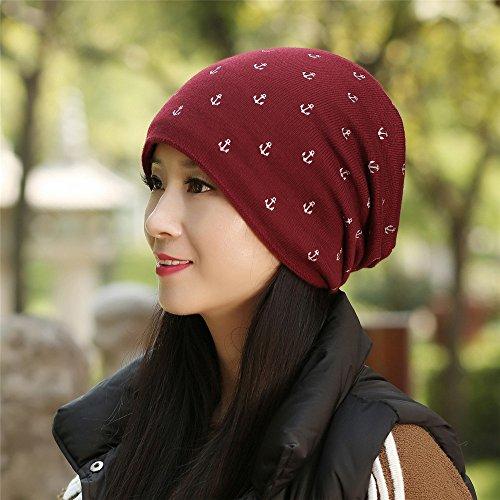 YANGFEIFEI-MZ vriendin vriend vakantie geschenken kinderen met kasjmier wol heeft winter warm baotou knit cap tab vrije tijd jeugd warme muts