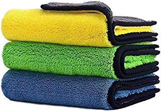 Car Drying Towel,ShowTop Free Microfiber Cleaning Cloth,Premium Professional Soft Microfiber Towel,Super Absorbent Detaili...