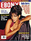 Ebony March 1997 Halle Berry on Cover, Women s Issue, What Turns Women On - and Off