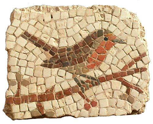 Kit de mosaico petirrojo. 260 teselas de 7,5mm. + herramientas. Tamaño terminado: 19x15 cm.