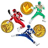 Popfunk Power Rangers Collectible Stickers with Red, Blue and Green Rangers