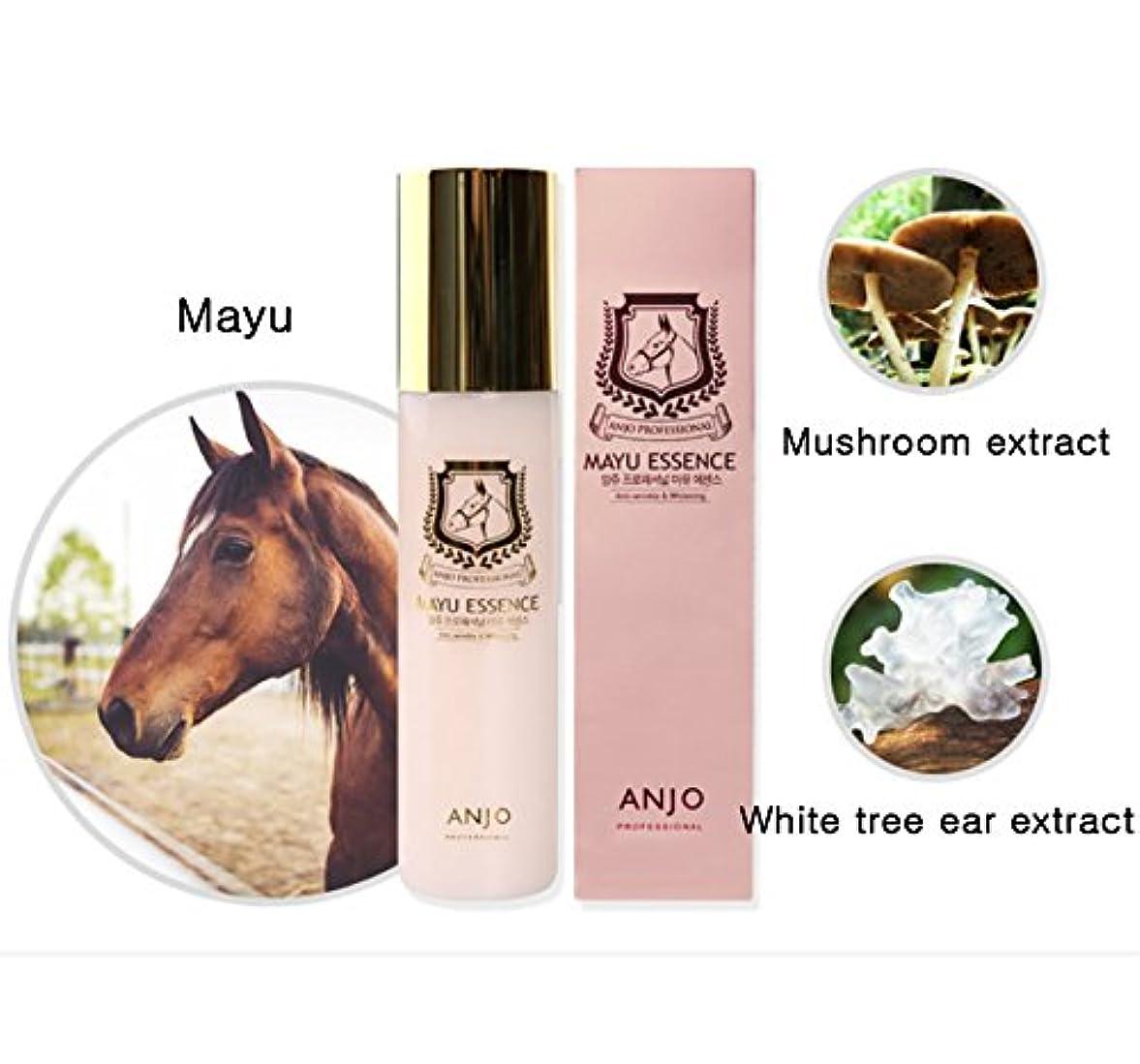 敵対的前熟練した[ANJO] 済州ホースオイルエッセンス150ml /ホワイトニング、保湿、スキンケア / Jeju Horse Oil Essence 150ml / Whitening, Moisturizing, Skin improvement / 韓国化粧品 / Korean cosmetics [並行輸入品]