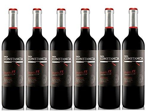 Finca Constancia Parcela 23 Tempranillo - Vino Tinto V.T. Castilla - 6 Paquetes de 750 ml - Total: 4500 ml