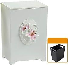 JXXDDQ Rubbish Bin Office Kitchen Storage Bucket Garden Covered Recycling Bin Household Trash Bin (Color : 2#)