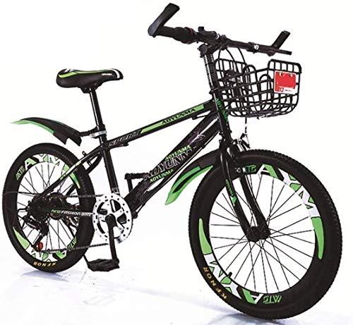 MJY Bicicleta de montaña con neumáticos antideslizantes que amortiguan más, manija antideslizante...