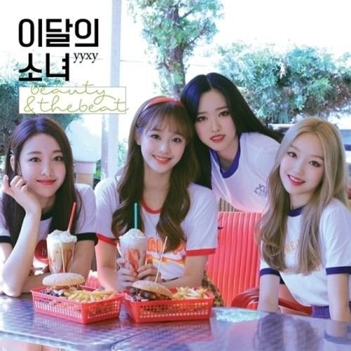 Monthly Girl Unit yyxy - [Beauty&thebeat] Normal Ver Album Cover Color is White CD+Booklet+Card K-POP Sealed
