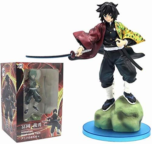 M-Answer Anime Demon Slayer Blade Tomioka Yoshiyuki Pilar de Agua Edición de Batalla Modelo de Estatua Figura en Caja