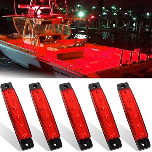 AIJIANG Luces estroboscópicas y de Seguridad para Barcos
