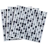 Infactory - Baldosas adhesivas: baldosas autoadhesivas 3D con mosaicos para azulejos, discretas, 26 x 26 cm, juego de 3 (lámina autoadhesiva de mosaico)