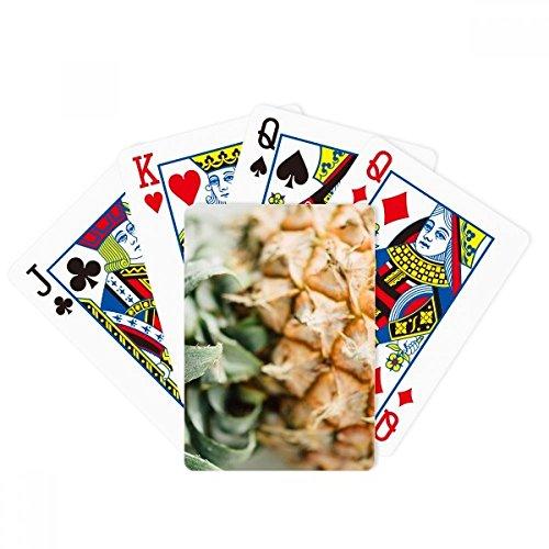 Juego de mesa de la diversión de la tarjeta mágica de la piña de la fruta tropical fresca
