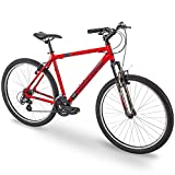 Royce Union 27.5' RMA Mens 21-Speed All-Terrain Mountain Bike, 22' Aluminum Frame, Trigger Shift, Red