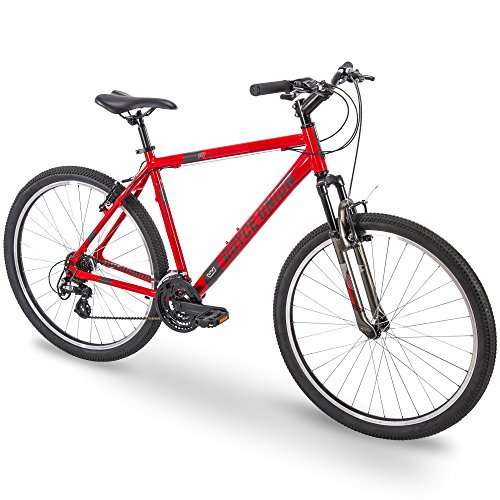 "Royce Union 27.5"" RMA Mens 21-Speed All-Terrain Mountain Bike, 18"" Aluminum Frame, Trigger Shift, Red"