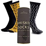 Lord's Rocks 3 Pair of Whiskey Socks in Gift Box If you can read it Bring Whisky Novelty Funny...