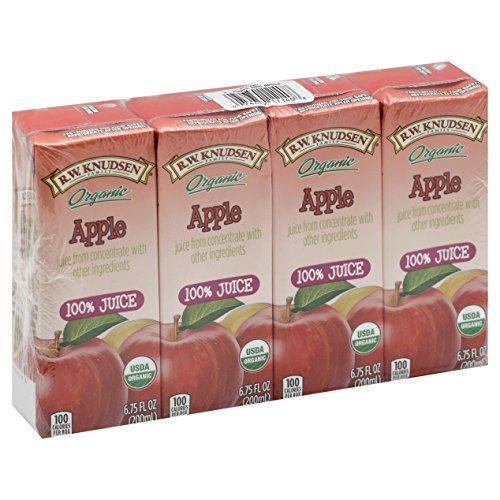 R.W. Knudsen Organic Juice Box, Apple, 28 Count
