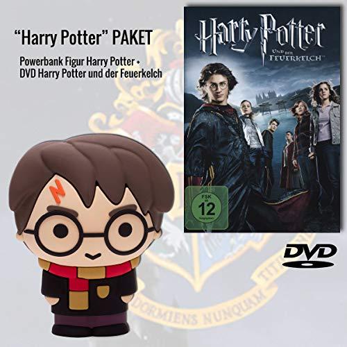 Harry Potter und der Feuerkelch DVD + Harry Potter Powerbank