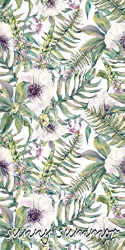 Faro Tekstylia Tropical Island Blumen Badetuch Handtuch Strandtuch Duschtuch 70 x 140 cm