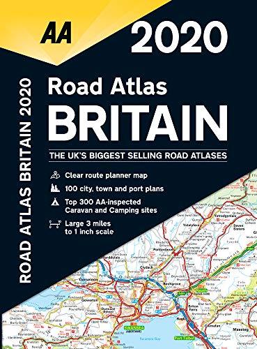 Road Atlas Britain 2020 1:200 000 (Aa Road Atlas)