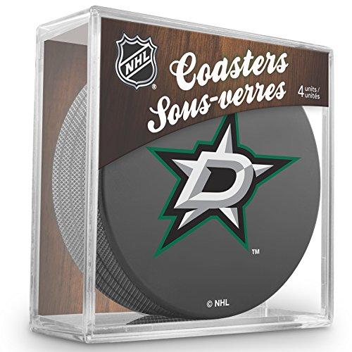 Sher-Wood Dallas Stars NHL Eishockey Puck Untersetzer (4er Set)