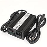50.4V 3A Charger DC 50.4V 3 Amp Li-ion Battery Charger for 12S 44.4V 48V E-Bike Lithium Battery Auto-Stop Smart Charger
