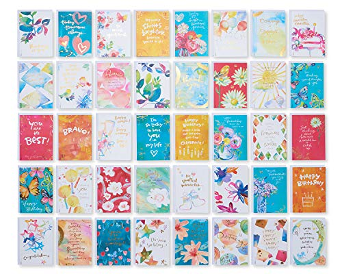 American Greetings All-Occasion Cards Assortment, Kathy Davis Designs (40-Count)