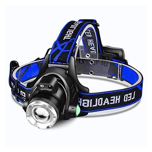 ZSM Faro T6 / L2 / V6 LED Recargable LED Cuerpo Movimiento Sensor Cabeza Flash Linterna Camping Antorcha Lámpara de Luz para Pesca (Tamaño: V6-más Brillante) YMIK (Size : V6Brightest)