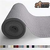 Gorilla Grip - Revestimiento para cajones y estantes, no adhesivo, duradero y fuerte, para cajones, estantes, armarios, almacenamiento, cocina y escritorios