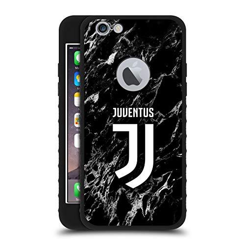 Head Case Designs Licenza Ufficiale Juventus Football Club Nero Marmoreo Cover Blindata Lite Nera Compatibile con Apple iPhone 6 / iPhone 6s
